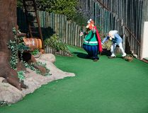 asterix法国公园剧院 库存图片