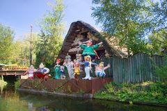 asterix法语公园 免版税库存图片