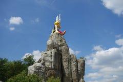 Asterix-Park in Paris Dorf von Asterix Lizenzfreie Stockbilder