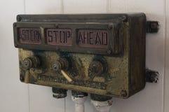Astern, стоп и вперед signalizator Стоковое Фото