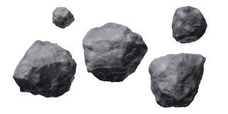 Asteroïden Stock Foto's