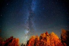 asteroidów niebo Zdjęcie Royalty Free