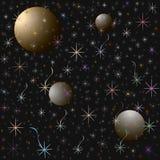 asteroidów niebo Obrazy Stock