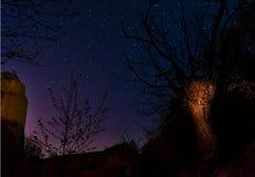 asteroidów niebo zdjęcia stock