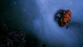 Asteroid στο διάστημα απόθεμα βίντεο