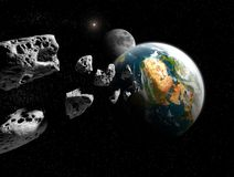Asteroid Royalty Free Stock Images