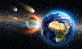 Asteroid Apocalypse Royalty Free Stock Photo