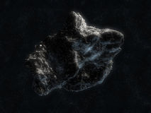 Asteroid in space Stock Photos