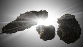asteroid tła gwiazda ilustracja wektor