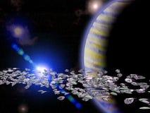 asteroidbälte Royaltyfri Bild