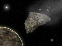 Asteroide Imagenes de archivo