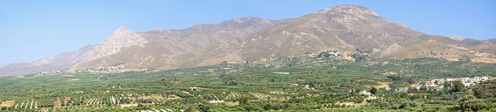 Asterousia mountains on Crete Royalty Free Stock Images