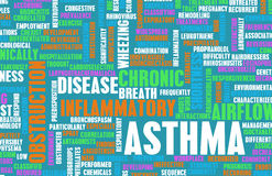 Asthma Stockfotos