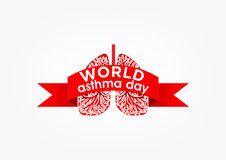 Asthma day Stock Images