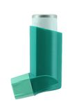 Asthma inhaler Royalty Free Stock Photography