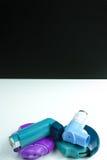 Asthma medication. Set of inhalers and medication Stock Image