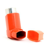 Asthma spray Royalty Free Stock Image