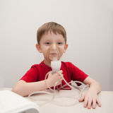 Asthma treatment Stock Images