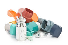 Asthma Treatment Royalty Free Stock Image