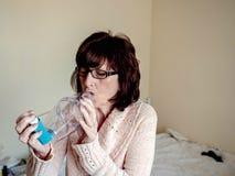 asthmatic fotografia stock libera da diritti