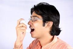 Asthmatique Photos stock