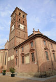 Asti cathedral, Italy. Asti cathedral, medieval landmark in Piedmont, Italy Stock Photos