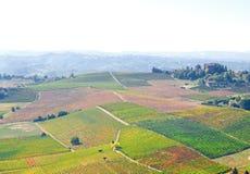 Astigiano, Piedmont, Italien: Landschaft Lizenzfreies Stockbild