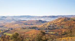 Astigiano, Piedmont, Italien: Landschaft Stockfotos