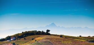 Astigiano, Piemonte, Italië: landschap Royalty-vrije Stock Foto's