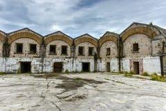 Astillero real de la marina de guerra - Bermudas imagen de archivo