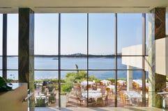 Astir el complejo del hotel del palacio (Westin y Arion) en Vouliagmeni, cerca de Atenas, Grecia Fotografía de archivo libre de regalías