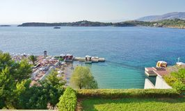 The Astir Palace hotel complex (Westin and Arion) in Vouliagmeni, near Athens, Greece Stock Photo
