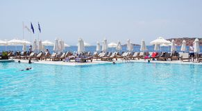 The Astir Palace hotel complex (Westin and Arion) in Vouliagmeni, near Athens, Greece Stock Image