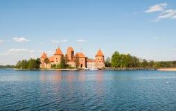 Astle de ¡ de Ð dans Trakai images stock