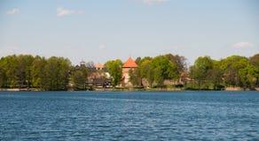 Astle de ¡ de Ð dans Trakai photos stock