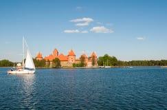 Astle del ¡ di Ð in Trakai Fotografie Stock