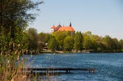 Astle del ¡ di Ð in Trakai Fotografie Stock Libere da Diritti