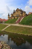 Сastle. The Nesvizh medieval castle, Belarus Royalty Free Stock Photos