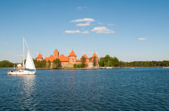 Сastle in Trakai Stock Photos