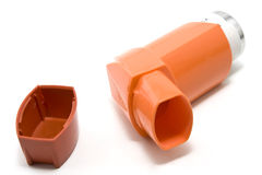astma inhalator Obraz Stock