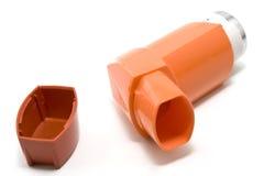 astmainhaler Fotografering för Bildbyråer