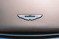 Aston Мартин побеждает автомобиль Стоковая Фотография