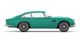 aston 1964 db5 martin преимущественный Стоковая Фотография RF