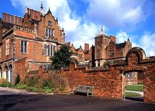 Aston Hall, Birmingham. Royalty Free Stock Photography
