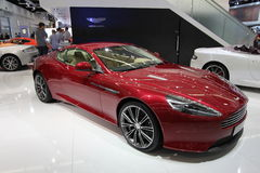 Aston martin on 64rd IAA Royalty Free Stock Image