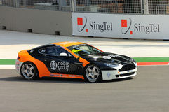 Aston Martin Asia Cup 2008 in Singapore Grand Prix Stock Image