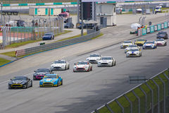 Aston Martin Asia Cup Race Stock Images
