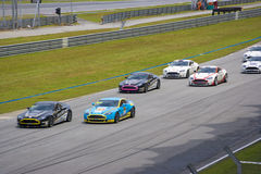 Aston Martin Asia Cup Race Royalty Free Stock Images