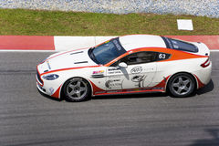 Aston Martin Asia Cup Race Royalty Free Stock Image