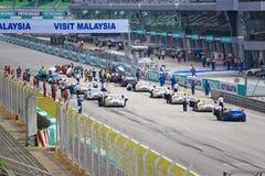 Aston Martin Azië het Ras van de Kop Royalty-vrije Stock Foto's